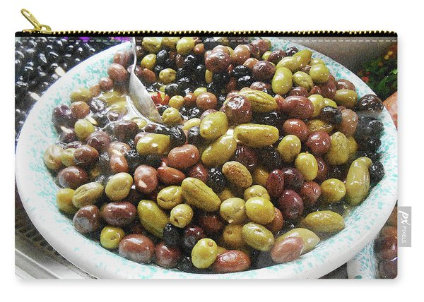Italian Market Olives Carry-all Pouch