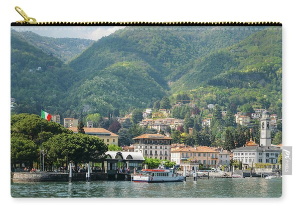 Italian Village On Lake Como Carry-all Pouch