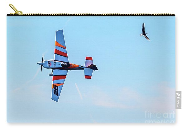 It's A Bird And A Plane, Red Bull Air Show, Rovinj, Croatia Carry-all Pouch
