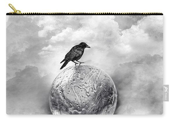 It's A Crow's World Carry-all Pouch