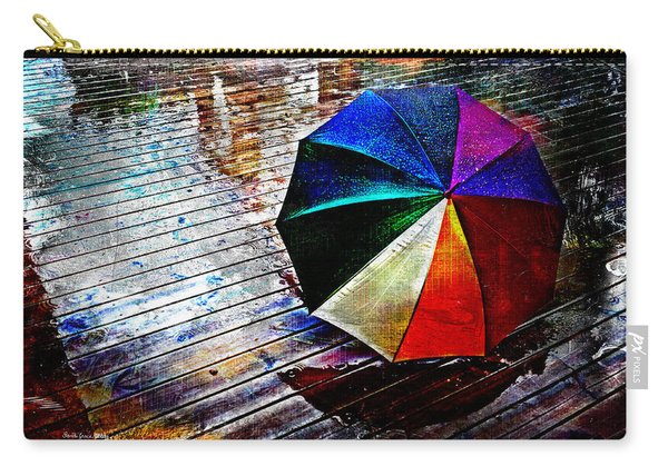 It's Raining Again Carry-all Pouch