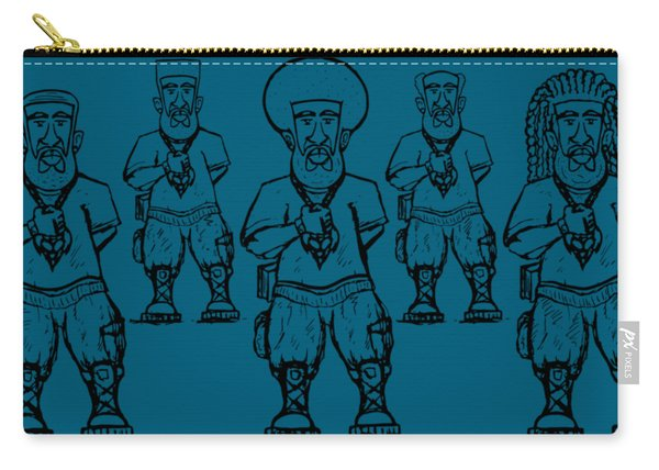 Iuic Soldier 1 W/outline Carry-all Pouch