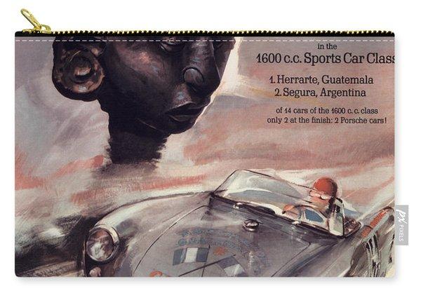 Iv Carrera Panamericana Porsche Poster Carry-all Pouch