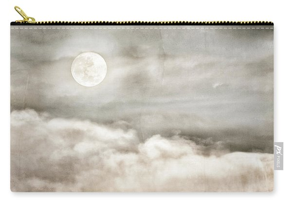 Ivory Moon Carry-all Pouch