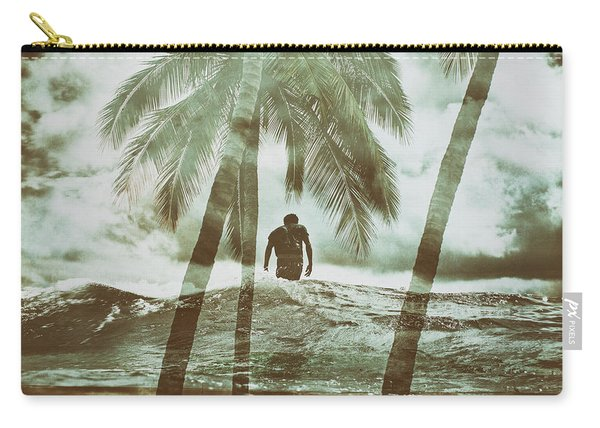 Izzy Jive And Palms Carry-all Pouch