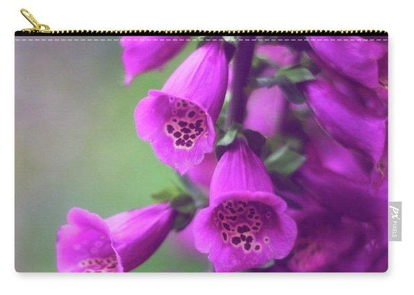 Fancy Foxglove Carry-all Pouch