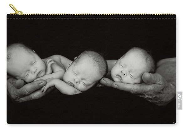 Jack And The Triplets Carry-all Pouch