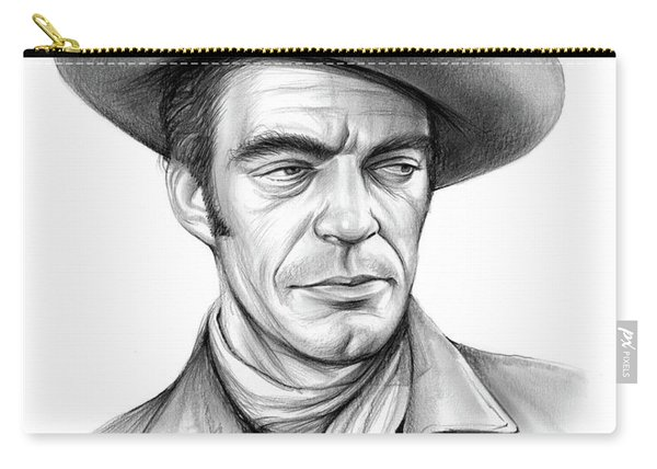 Cowboy Jack Elam Carry-all Pouch