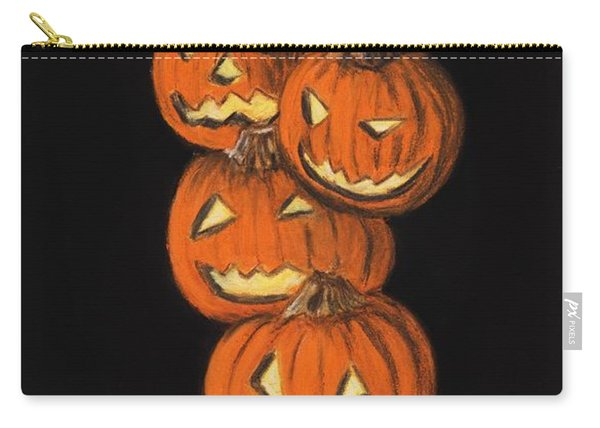 Jack-o-lantern Carry-all Pouch