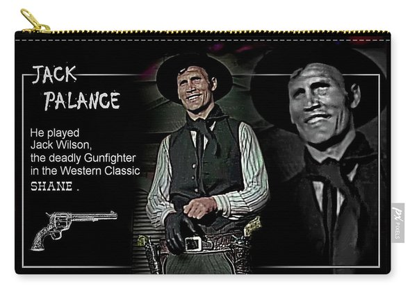Jack  Palance Carry-all Pouch