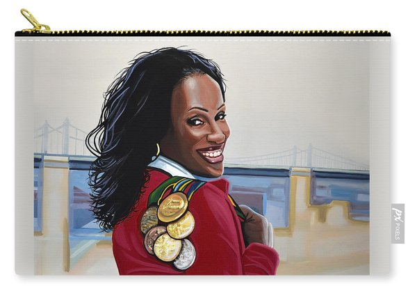 Jackie Joyner Kersee Carry-all Pouch