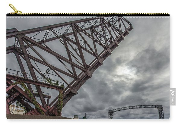 Jackknife Bridge To The Clouds Carry-all Pouch