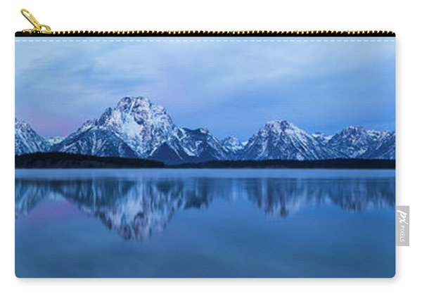 Jackson Lake Panorama Carry-all Pouch