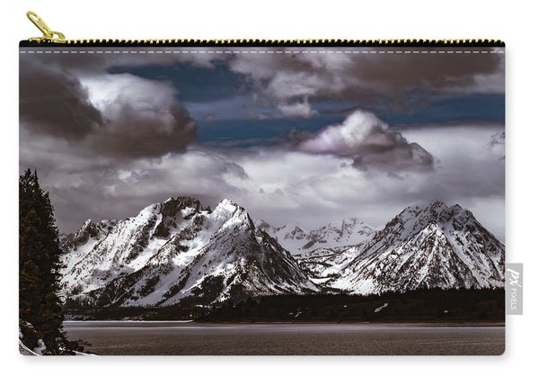 Jackson Lake Peaks Carry-all Pouch