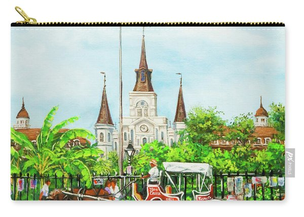 Jackson Square Carriage Carry-all Pouch