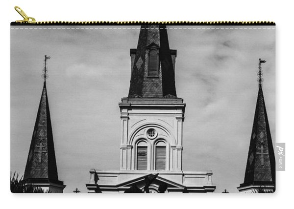 Jackson Square - Monochrome Carry-all Pouch