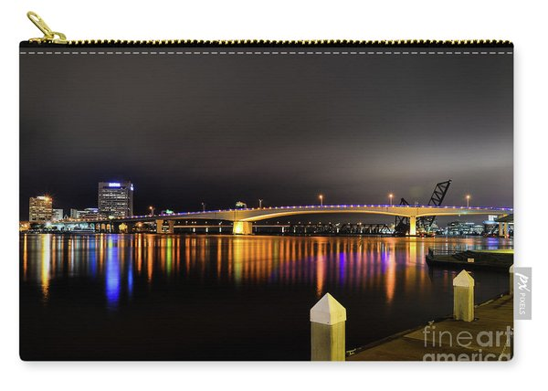 Jacksonville Night Sky Carry-all Pouch