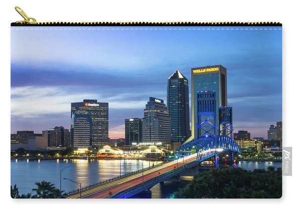 Jacksonville Nights Carry-all Pouch
