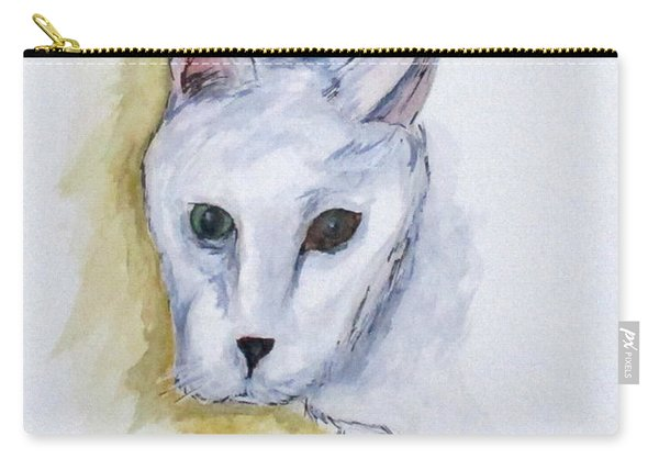 Jade The Cat Carry-all Pouch
