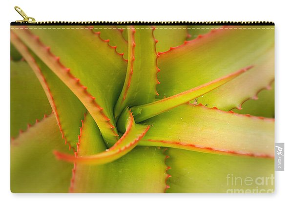 Jagged Aloe Carry-all Pouch