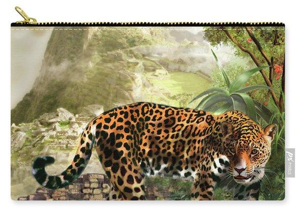 Jaguar In The Shadow Of  Machu Picchu Peru Carry-all Pouch
