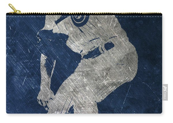 Jake Arrieta Chicago Cubs Art Carry-all Pouch