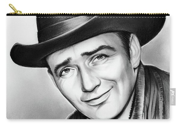 James Drury Carry-all Pouch