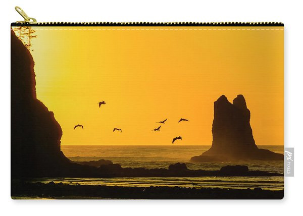 James Island And Pelicans Carry-all Pouch