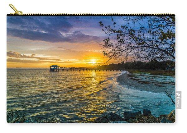 James Island Sunrise - Melton Peter Demetre Park Carry-all Pouch