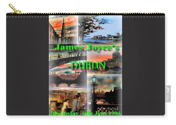 James Joyce's Dublin Carry-all Pouch