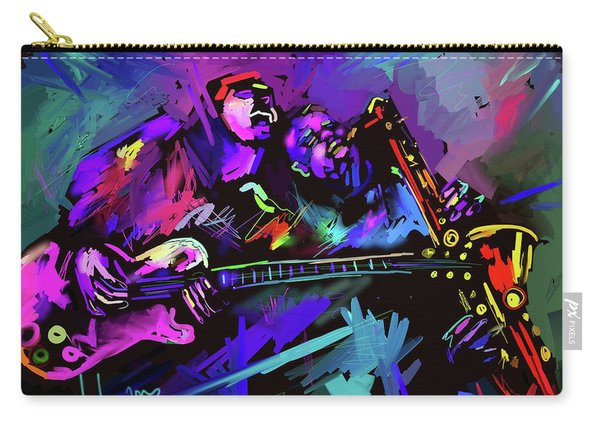 Jammin' The Funk Carry-all Pouch