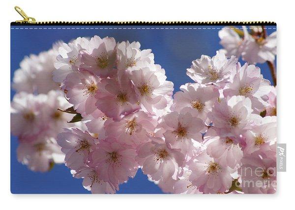 Japanese Flowering Cherry Prunus Serrulata Carry-all Pouch