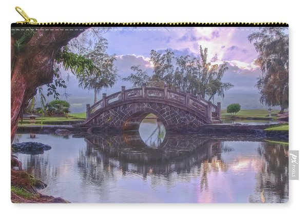 Japanese Footbridge Carry-all Pouch