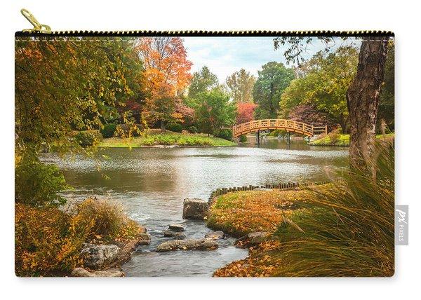Japanese Garden Bridge Fall Carry-all Pouch