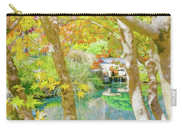 Japanese Garden Pond Carry-all Pouch