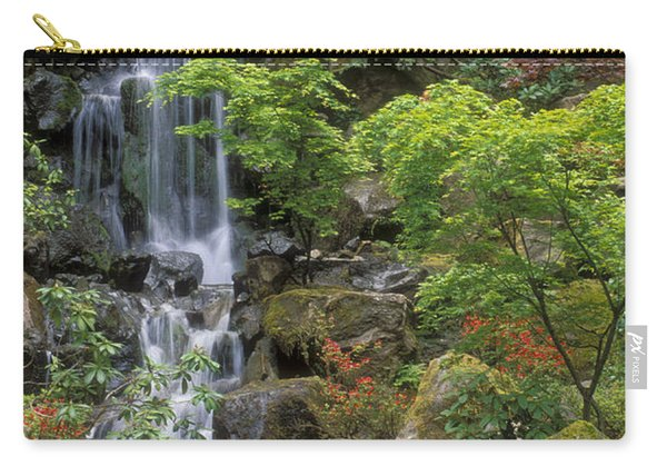 Japanese Garden Waterfall Carry-all Pouch