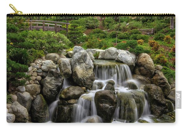 Japanese Garden Waterfalls Carry-all Pouch