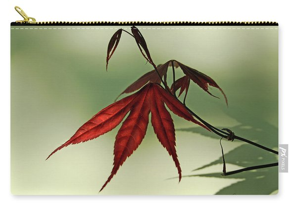 Japanese Maple Leaf Carry-all Pouch