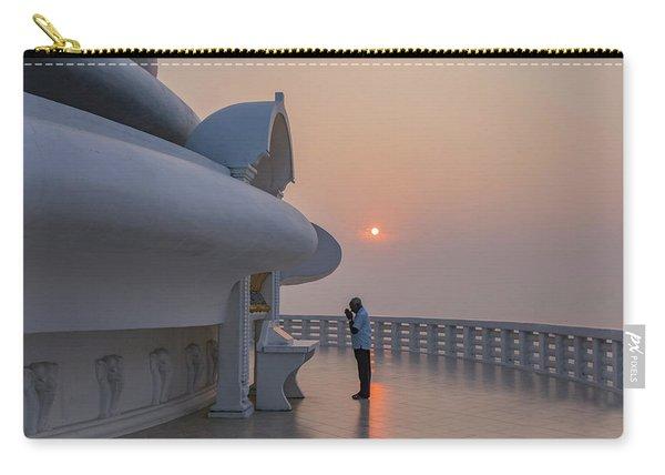 Japanese Peace Pagoda - Sri Lanka Carry-all Pouch