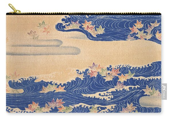 Japanese Style River And Cloud Modern Interior Art Painting. Carry-all Pouch