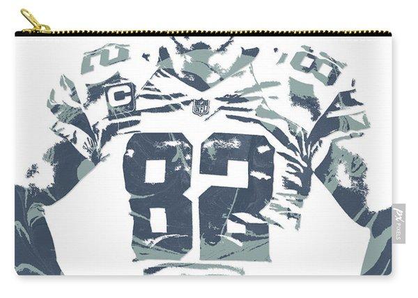 Jason Witten Dallas Cowboys Pixel Art Carry-all Pouch