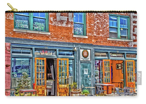 Carry-all Pouch featuring the photograph Java House by William Norton