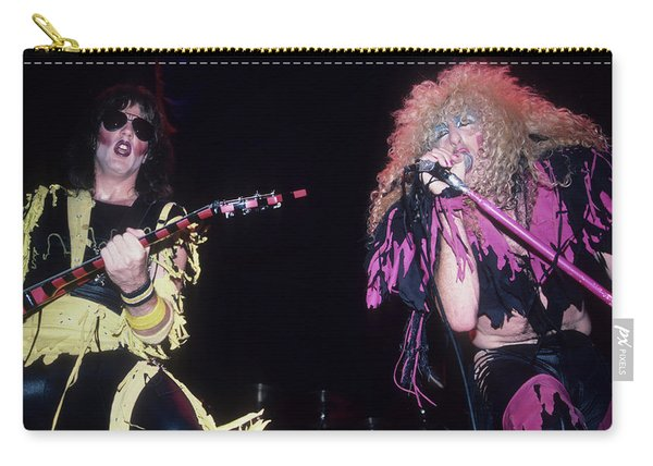 Jay Jay French And Dee Snider Carry-all Pouch