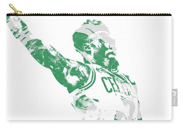 Jaylen Brown Boston Celtics Pixel Art 11 Carry-all Pouch