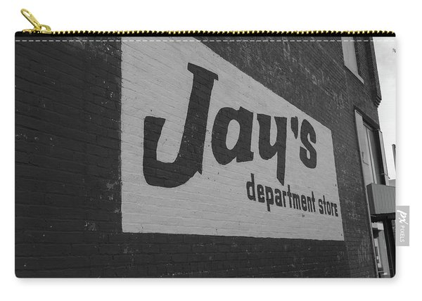 Jay's Department Store In Bw Carry-all Pouch