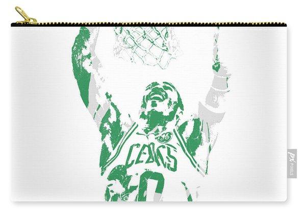Jayson Tatum Boston Celtics Pixel Art 10 Carry-all Pouch