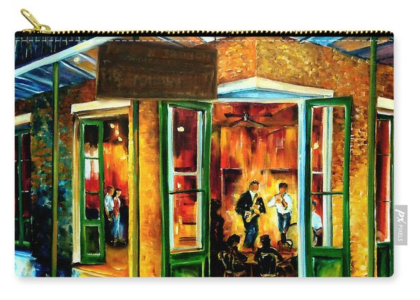 Jazz At The Maison Bourbon Carry-all Pouch