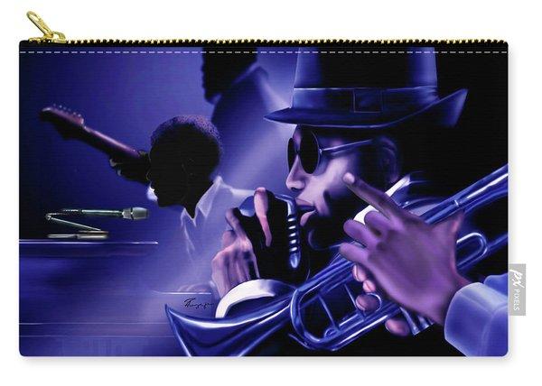 Jazz In Da Dusk Carry-all Pouch