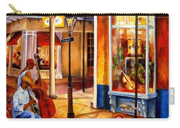 Jazz On Royal Street Carry-all Pouch