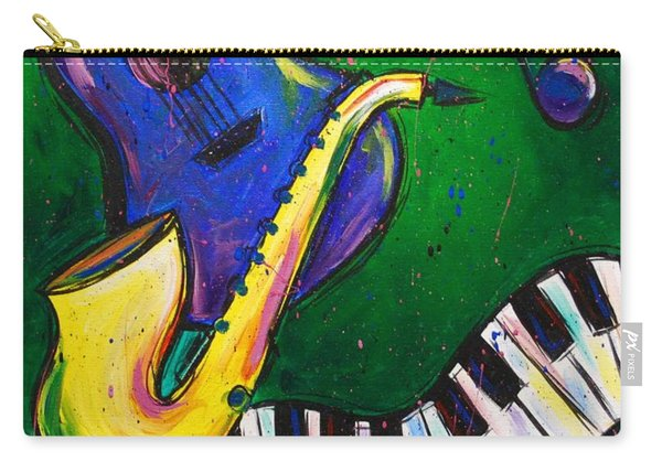 Jazz Time Carry-all Pouch